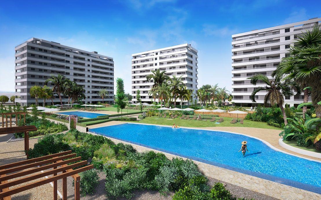Apartamento en Torrevieja en primera linea del mar