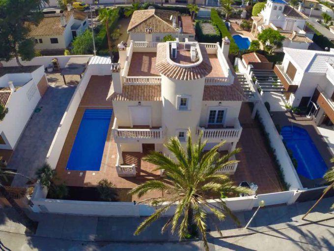 Villa eb Cabo Roig
