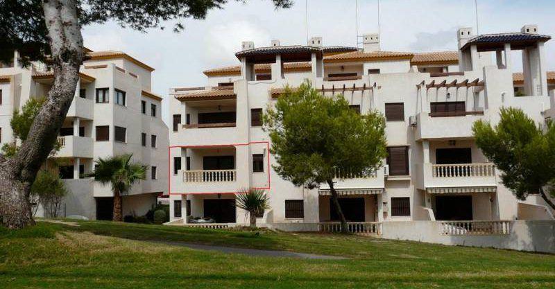 Apartamento en Las Ramblas en primera linea de campo de golf