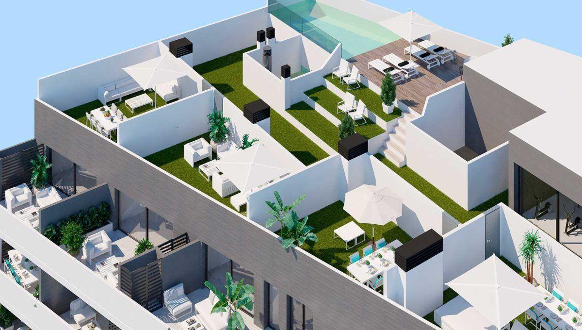 Apartamentos de obra nueva en pleno centro de Torrevieja