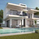 Villa en La Mata de obra nueva a 100 metros de la playa