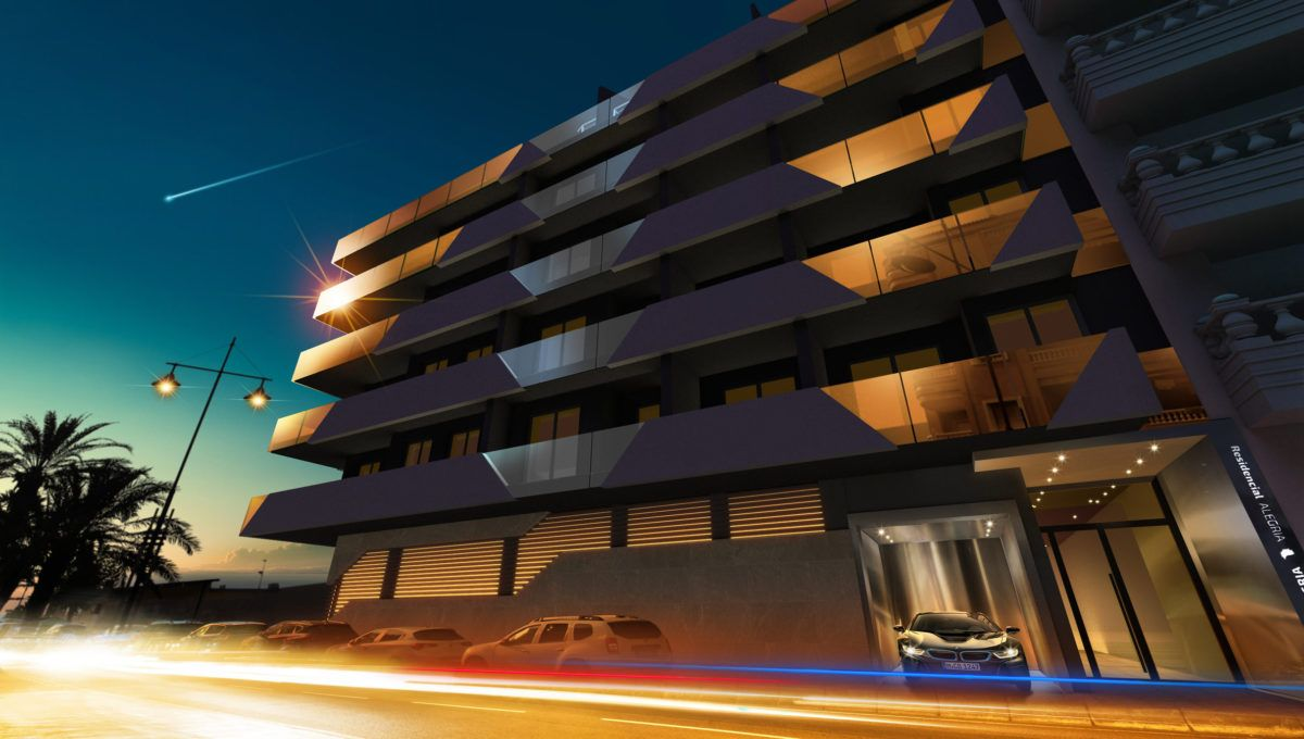 Apartamentos de obra nueva en playa de Los Locos - Alegria XII