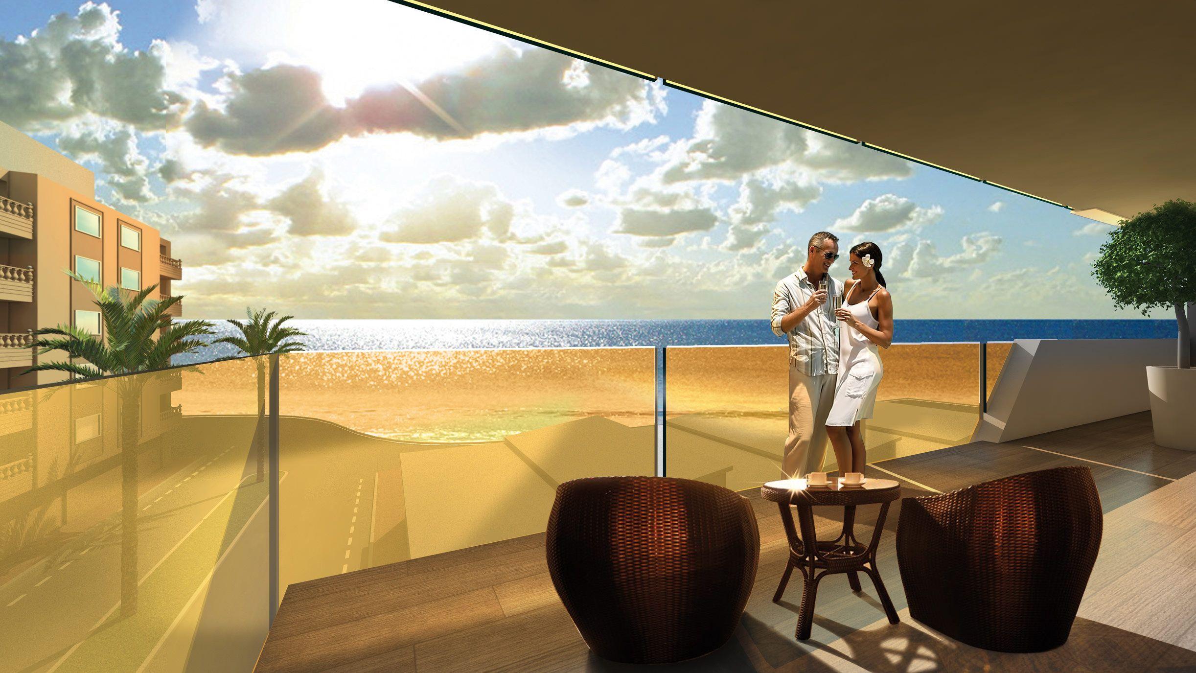 Apartamentos de obra nueva en playa de Los Locos – Alegria XII