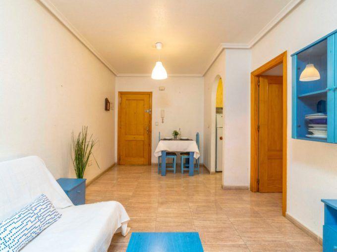 Apartamento soleado a pie de la playa en Torrevieja