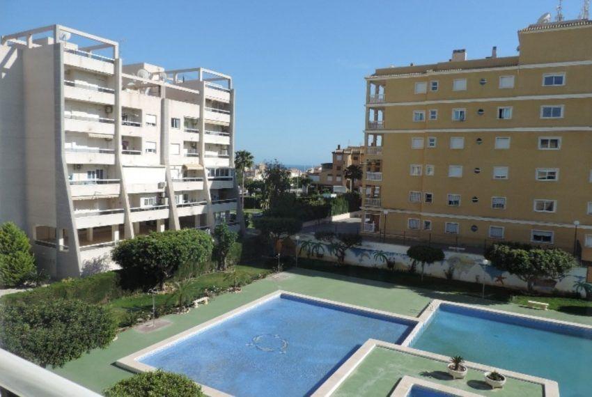 Apartamento con vistas al mar de 1 dormitorio
